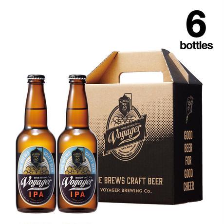 IPA×6Bottles Set【ボイジャーブルーイング(クラフトビール・地ビール)IPA/アイピーエー】