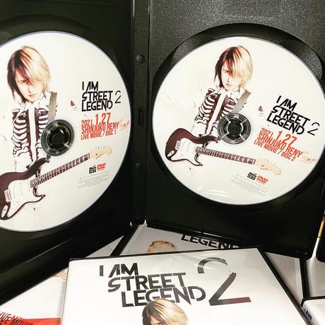 数量限定 ヨシケン 「I Am Street Legend Ⅱ」LIVE-DVD
