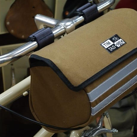 TIM TAS + REK / Handlebar bag BROWN