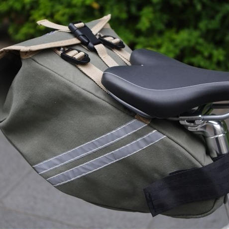 TIM TAS+REK / Saddle bag SEAGREEN