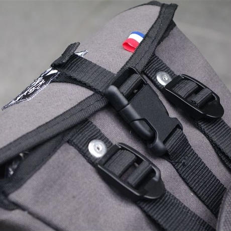 TIM TAS+REK / Saddle bag GRAY