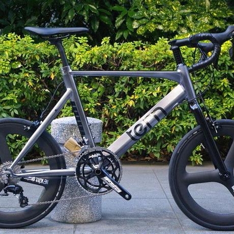 Kitt design 451 Carbon Tri-spoke Wheel set / Black Logo