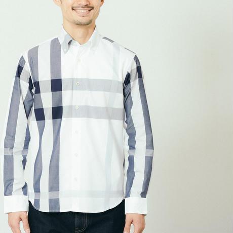 VUMPS パネル切替ビッグチェックシャツ (39105464)