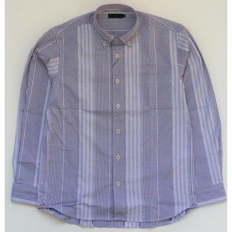 VUMPS カットドビーストライプシャツ (39105460)