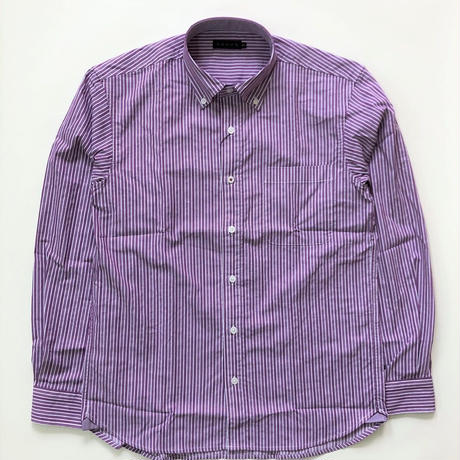 VUMPS ソロテックス ストライプBDシャツ (39105570)