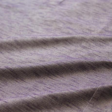 VUMPS クールマックス スラブ鹿の子7分袖ポロシャツ