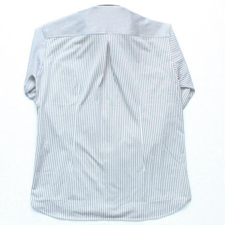 VUMPS アシンメトリーストライプシャツ