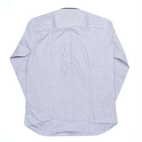 VUMPS ギンガムチェック 長袖起毛ネルシャツ パープル