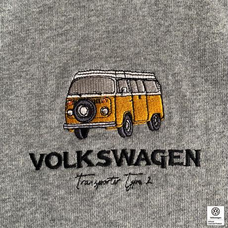 VW T2 BUS 刺繍スウェットパーカー