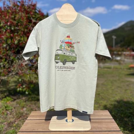 オーガニックコットンT2キャンプTシャツ