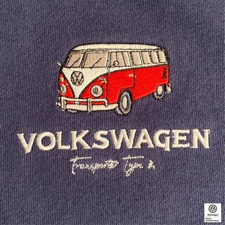 VW T1 BUS 刺繍スウェットパーカー