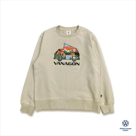 オーガニックコットンVANAGONスウェットシャツ