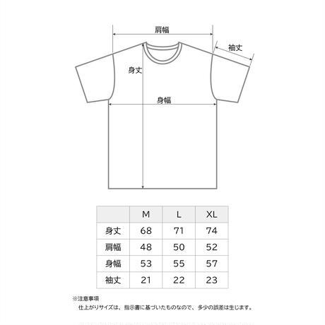製品染めポケット付きTシャツ
