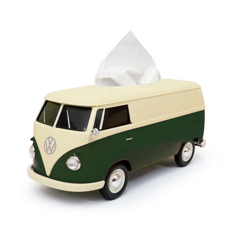 VWバス  ツートンティッシュボックス