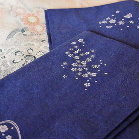 日本製紙ナプキン 櫻<The cherry-blossom set>  20枚