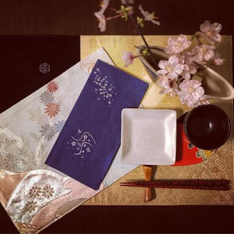 日本製紙ナプキン 櫻<The cherry-blossom set>  100枚(業務用)