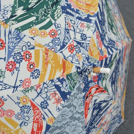 琉球の風☆紅型の日傘