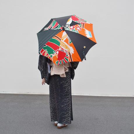 クレイジーパラソル☆オレンジの大漁旗