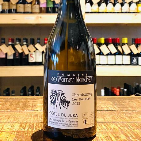 Chardonnay Les Molates シャルドネ レ モラット【2018】/Domaine des Marnes Blanchesドメーヌ・デ・マルヌ・ブランシュ