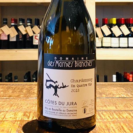 Chardonnay En Quatre Vis シャルドネ アン キャトル ヴィス【2018】/Domaine des Marnes Blanchesドメーヌ・デ・マルヌ・ブランシュ
