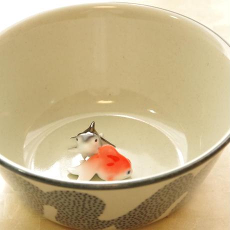【波佐見焼】ものはら青~「どんぶり金魚」オススメ・最適どんぶり~