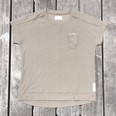 """CREW-NECK T-SHIRTS  : """"surfers"""" W/NAME"""