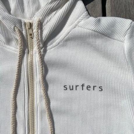 "ZIPUP PARKA  : ""surfers"" W/NAME"