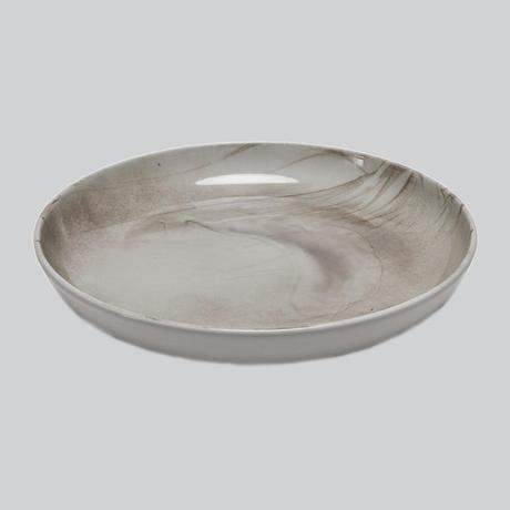 Flom Brown deep plate 27cm