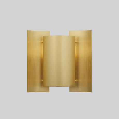 Butterfly Wall Lamp  Brass