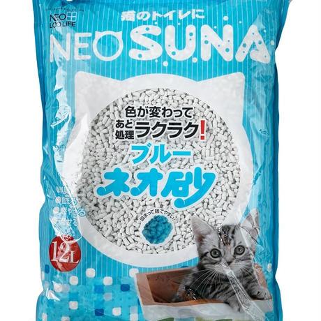 【定期便】ネオ砂 ブルー 12L 1ケース