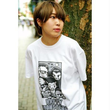 [Tシャツ]  ハピモン全員集合 (ハピモン)