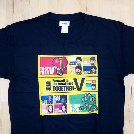 [Tシャツ] [特別価格] さらば大戦士トゥギャザーVオリジナルTシャツ