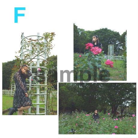[写真]成田麻実 ブロマイド3枚セット【A、B、C、D、E、F、G】