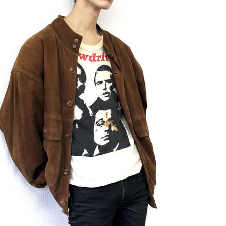 80s suede leather jacket from Europe レザー レザージャケット 80s 80年代 スエード スエードジャケット ヨーロッパ ヨーロッパ古着