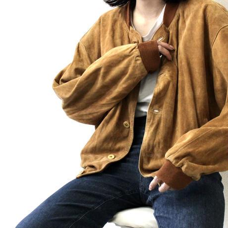 ledermann design suede jacket  from Europe レザー レザージャケット 春レザー スエード スエードジャケット ヨーロッパ ヨーロッパ古着
