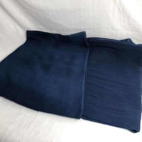 日頃の感謝を込めて大特価!『一点物』&コロナに負けるな!!藍染め 濃淡染め 綿ガーゼストール大判 185×60cm 『一点物』