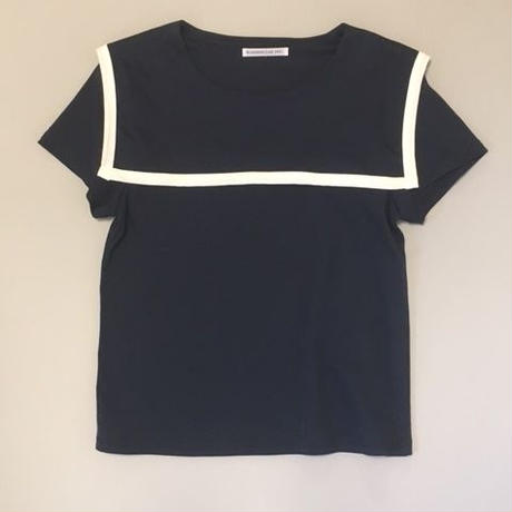 SAILOR T-SHIRTS NAVY セーラーTシャツネイビー