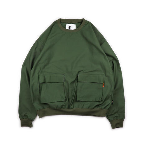 CODURA FABRIC MILITARY PULL OVER