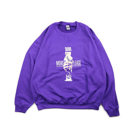 WD sounds × WANDER MAN EXCLUSIVE SWEAT SHIRTS