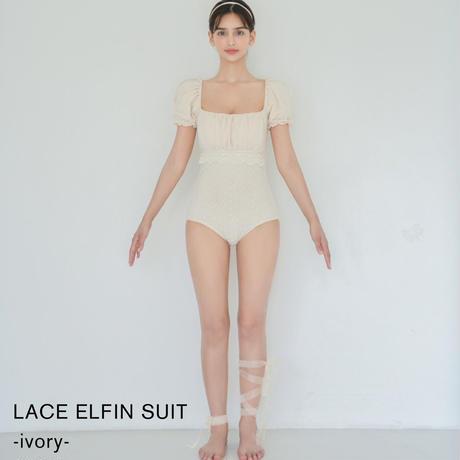 LACE ELFIN SUIT(ivory)