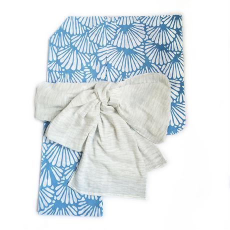 【KIDS】オリジナル本染浴衣「菊青海波」