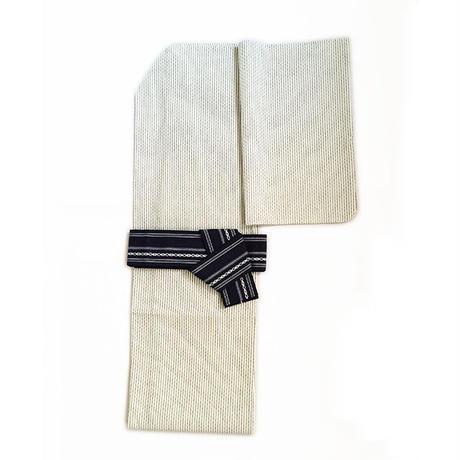 紳士浴衣「白縞」