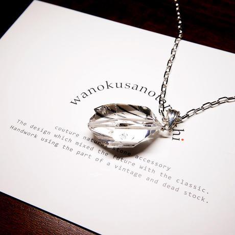 パキスタン産ヒマラヤ水晶クリスタル  ネックレス