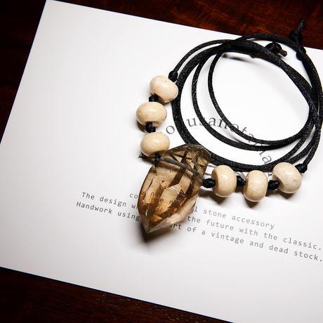 ガウリシャンカール産ヒマラヤ水晶 ネックレス