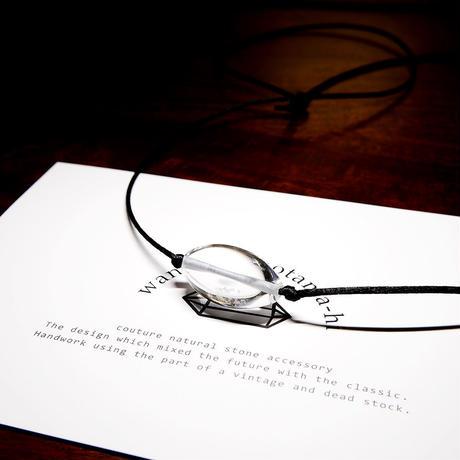 ガネーシュヒマールヒマラヤ水晶 ネックレス