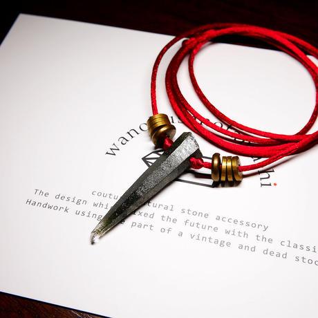 オーダーナンバーA108703【 F様ご予約分 】ガネーシュヒマール産ヒマラヤ水晶 ネックレス(クローライト)
