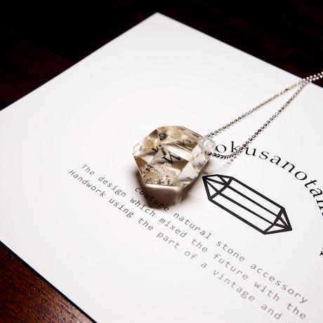 ガネーシュヒマール産ヒマラヤ水晶 ネックレス
