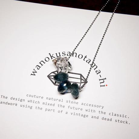 【再販】モスアクアマリン・ヒマラヤ水晶 ネックレス
