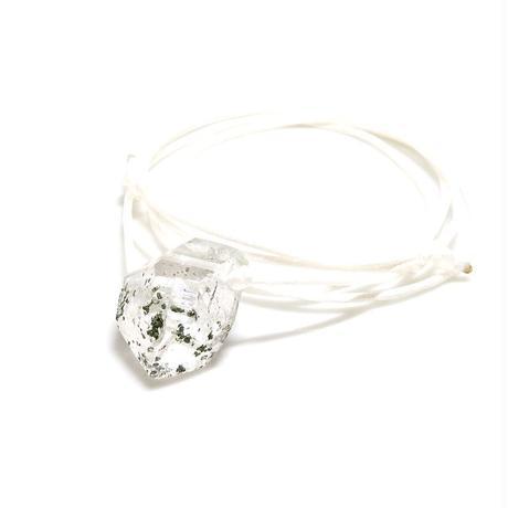ガネーシュヒマール産ヒマラヤ水晶 ネックレス(クローライト)