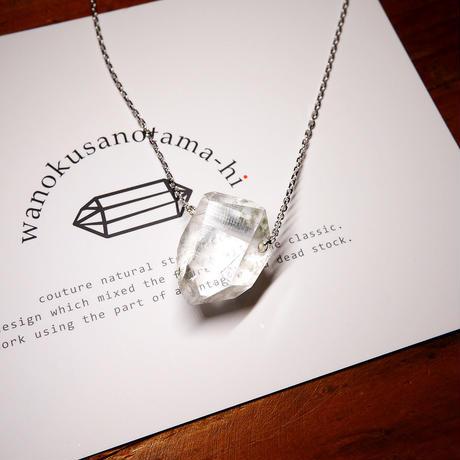 ガネーシュヒマール産ヒマラヤ水晶 ネックレス シルバー SJ